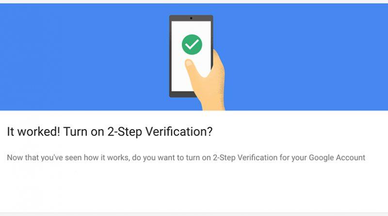 Gmail verifikacija u dva koraka